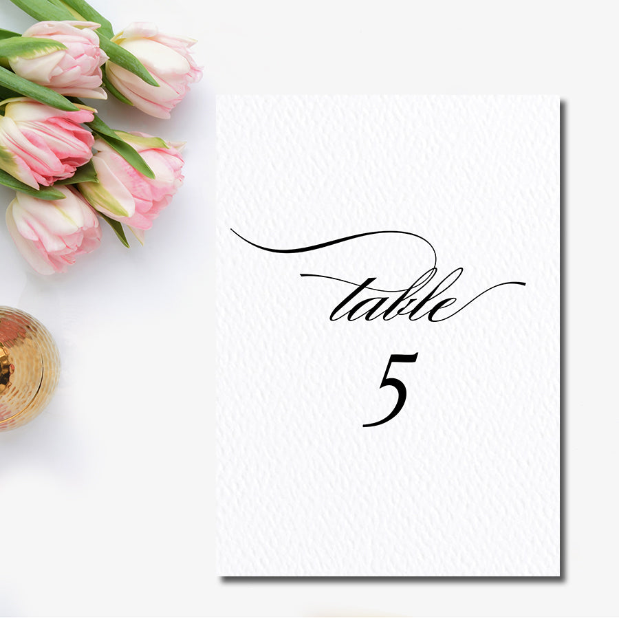 Grace Table Number