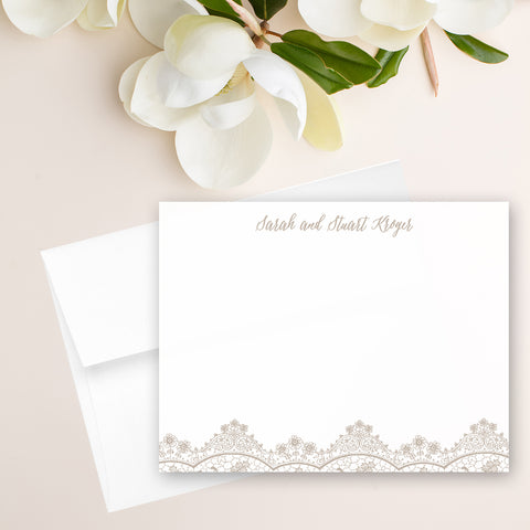 Lace Note Card