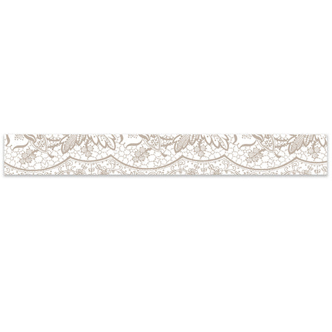 Printed Lace Belly Band