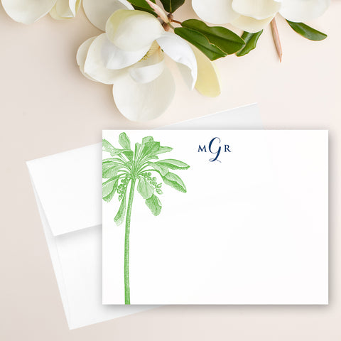Palm Tree Note Card