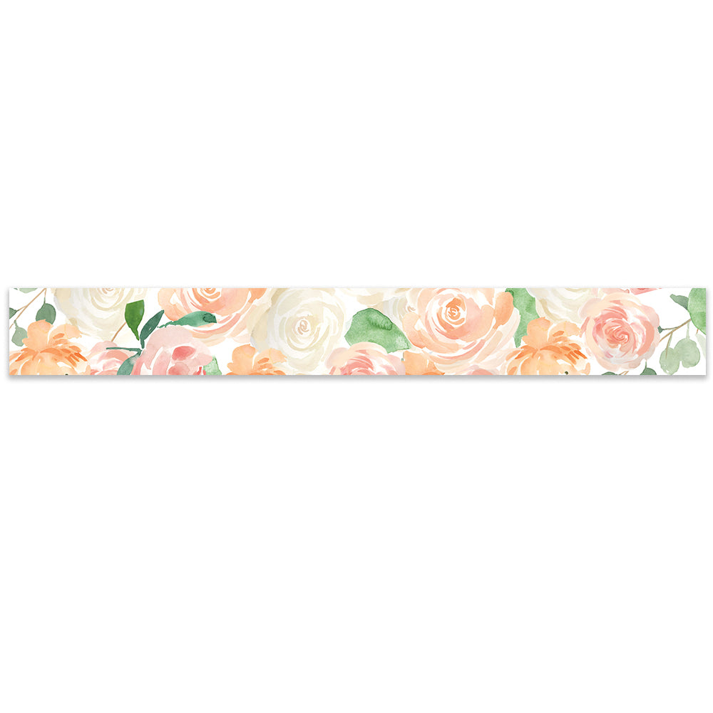 Peony Floral Watercolor Belly Band