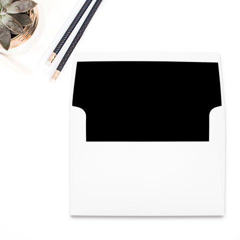 Black Envelope Liner