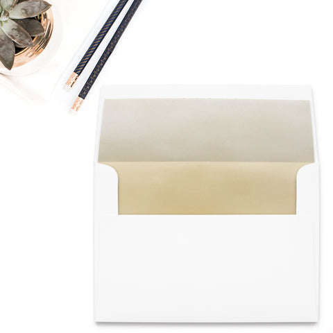 Gold Ombre Envelope Liner