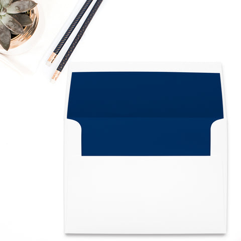 Navy Envelope Liner