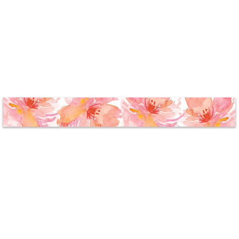 Tropical Floral Watercolor Belly Band