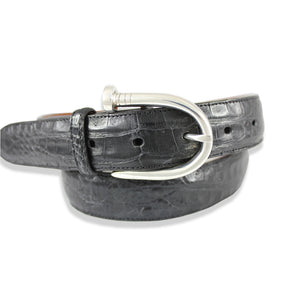 Caiman Crocodile - Black