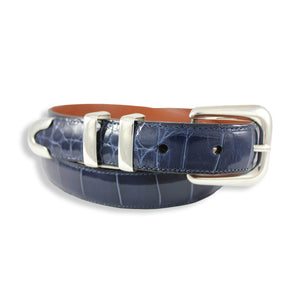 Alligator - Glossy Navy