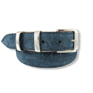 Alligator Suede - Navy
