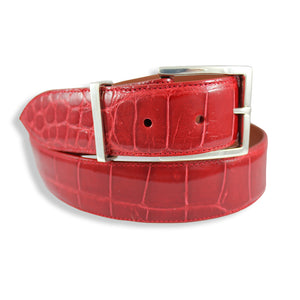 Alligator - Glossy Red