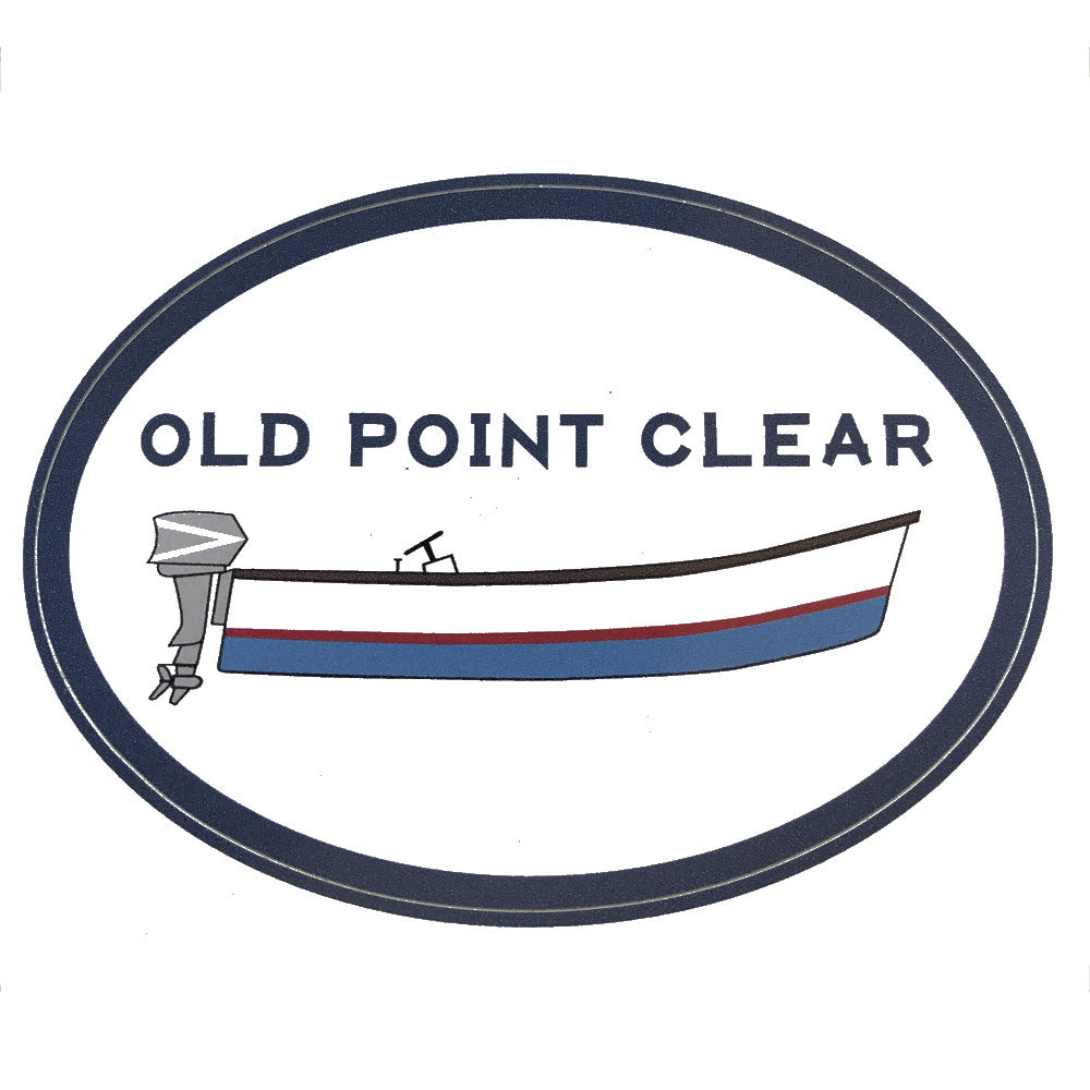 Old Point Clear Decal