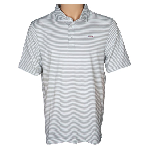Striped Performance Polo