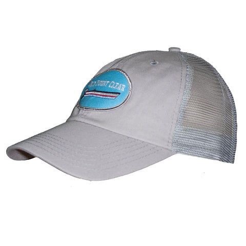 Light Grey Trucker