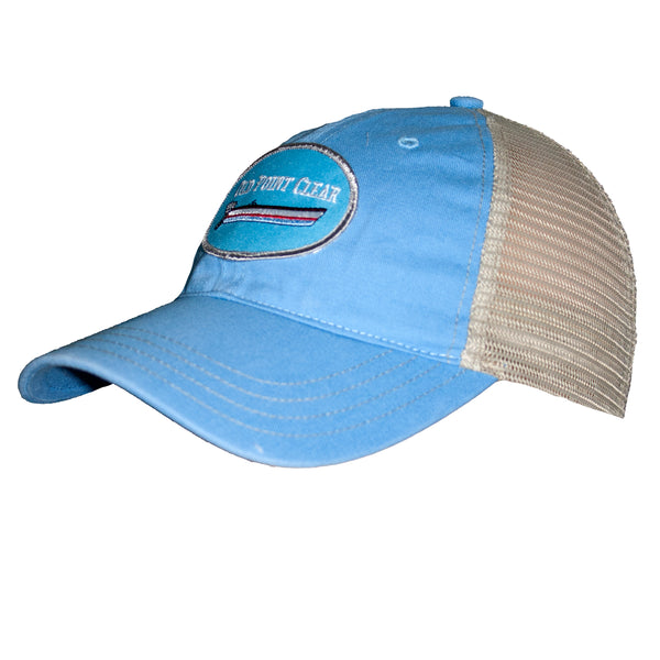 Light Blue Trucker