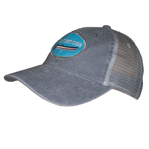 Dark Grey Trucker