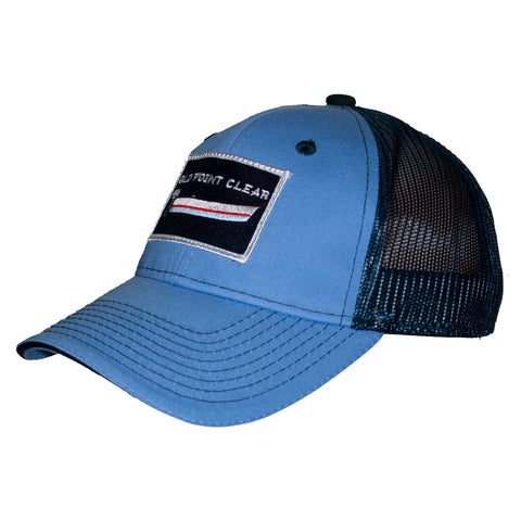 Light Blue/Navy Trucker
