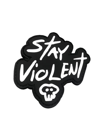 Stay Violent Little Skull Patch