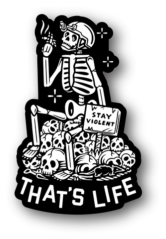 Thats Life Sticker
