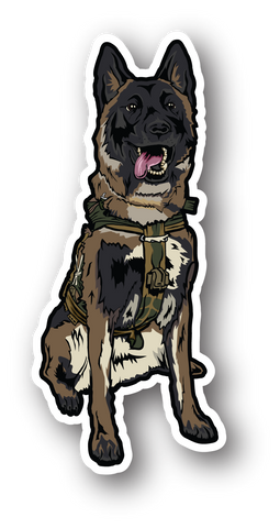 WAR DOG SOLO STICKER