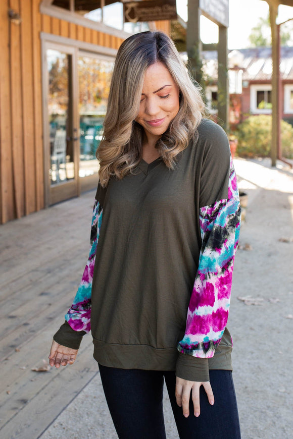 Spiritual Awakening Long Sleeve Top