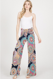 Medallion In Bloom Palazzo Pants