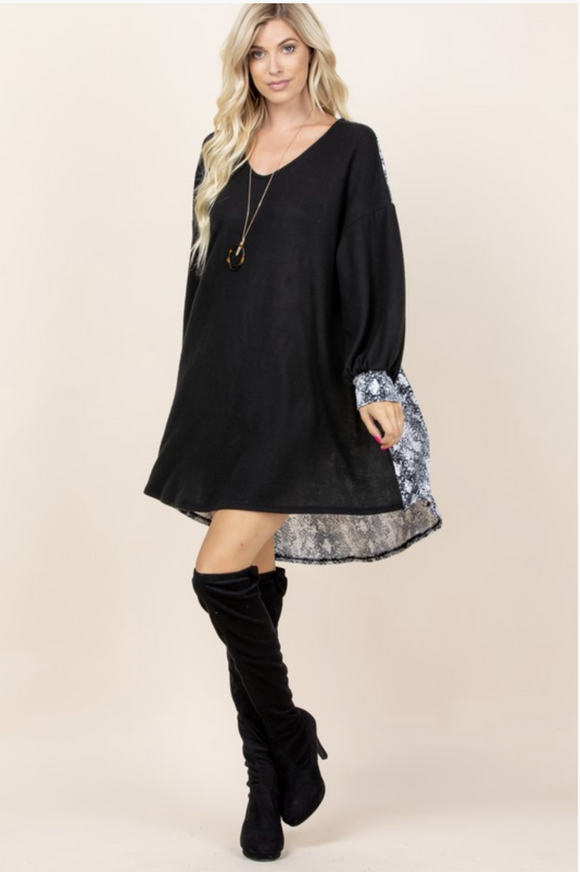 Empowered Woman Tunic Dress