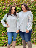 Silver Lining Long Sleeve Top