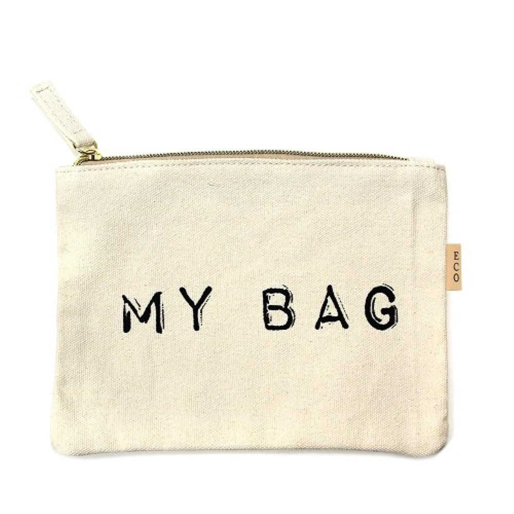 *Canvas Travel Pouch