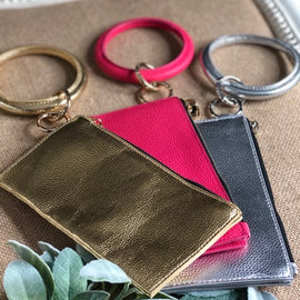 *Key Ring Wristlet Three colors!