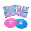 "Double 12"" Color Records in Gatefold Jackets"