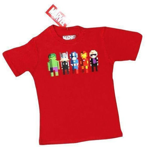 Marvel Avengers Pixelated Youth T-Shirt - Apparelholic