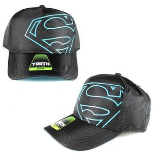 Superman Off Center Youth Snapback Cap