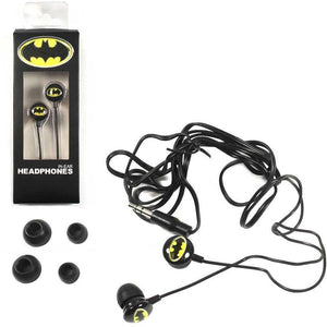 Batman Earbuds Headphones