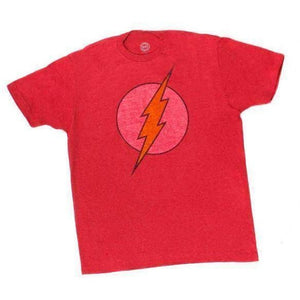 DC Comics The Flash - Red Adult Shirt - Apparelholic