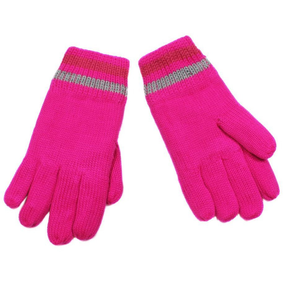 Nolan's Pink Winter Gloves
