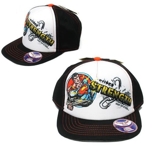 Man of Steel 2T-4T Toddler Hat