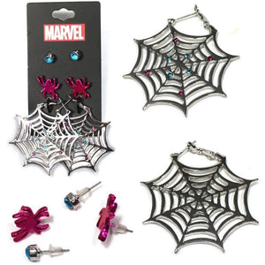 Marvel's Spiderman Gwen Earrings