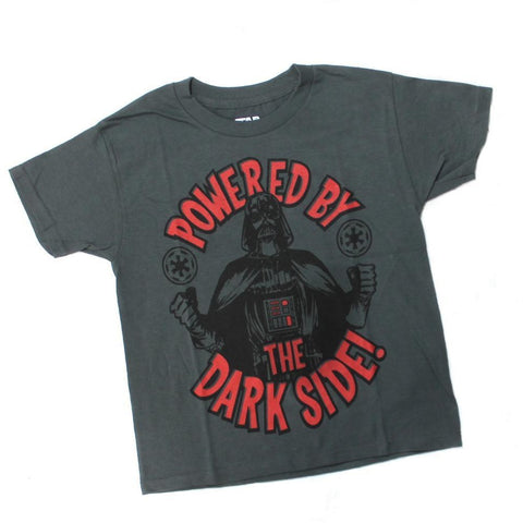 Star Wars Power By Dark Side Youth T-Shirt