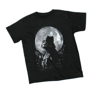 Star Wars Death Star and Vader Youth T-Shirt
