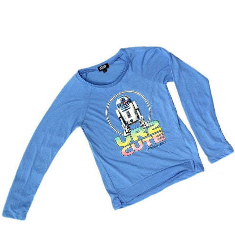 Star Wras R2D2 Long Sleeve Youth T-Shirt