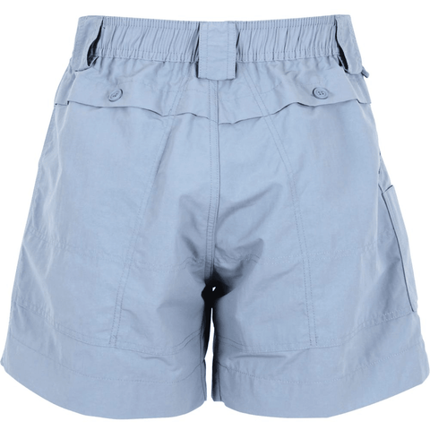 "AFTCO 6"" Fishing Shorts - Slate Blue - Southern Roots Clothing Company"