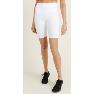 The Best White Biker Shorts - Southern Roots Clothing Company