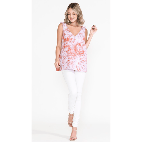 Ruffle Strap Top - Southern Roots Clothing Company