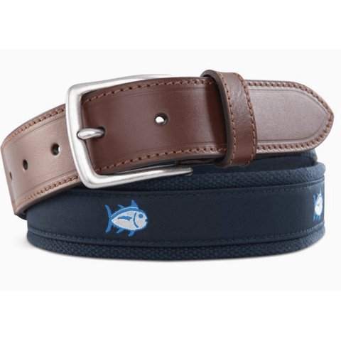 Southern Tide- Skipjack Ribbon Belt - Southern Roots Clothing Company