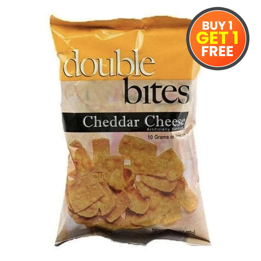 Double Bites - Cheddar Cheese
