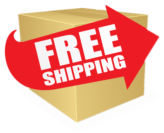 Free Shipping is here!
