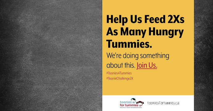 Janes is supporting Toonies For Tummies