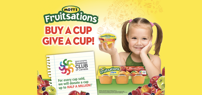 Mott's Fruitsations Supports Toonies for Tummies