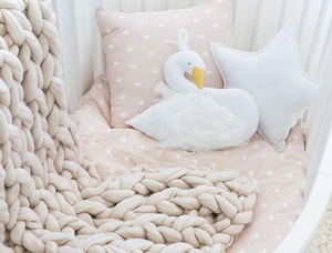 coussin cygne