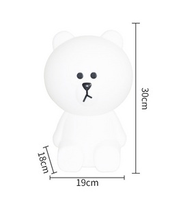 Lampe Ours Oscar 30cm