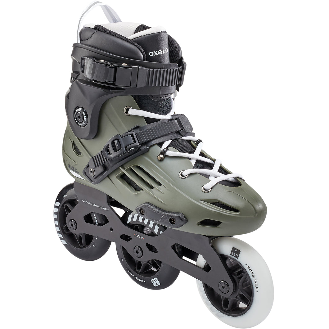 Rolki freeskate MF900 HardBoot 3x110 mm OXELO